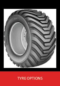Hi Spec SideSpreader Tyres